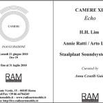 CAMERE XII Invitation