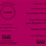 Invitation to Camere XVII