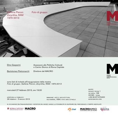 Invitation to MACRO Foto di gruppo