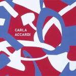 Invitation to Carla Accardi exhibition