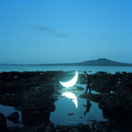 Leonid Tishkov_Private Moon_New Zealand_volcano Rangitoto_2010