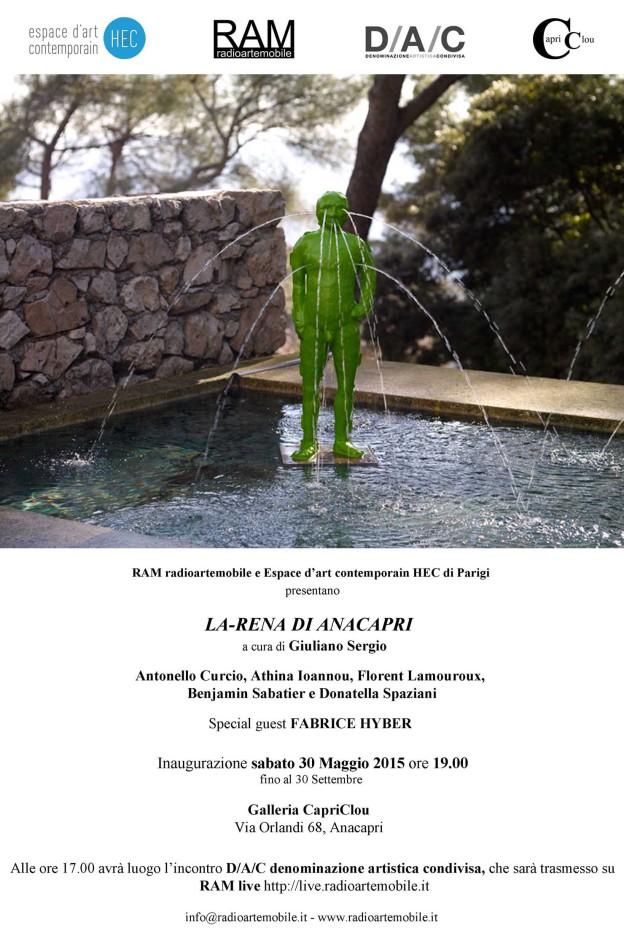 Fabrice Hyber's fountain
