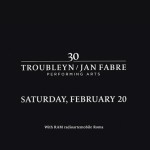 Invitation to Jan Fabre Troubleyn