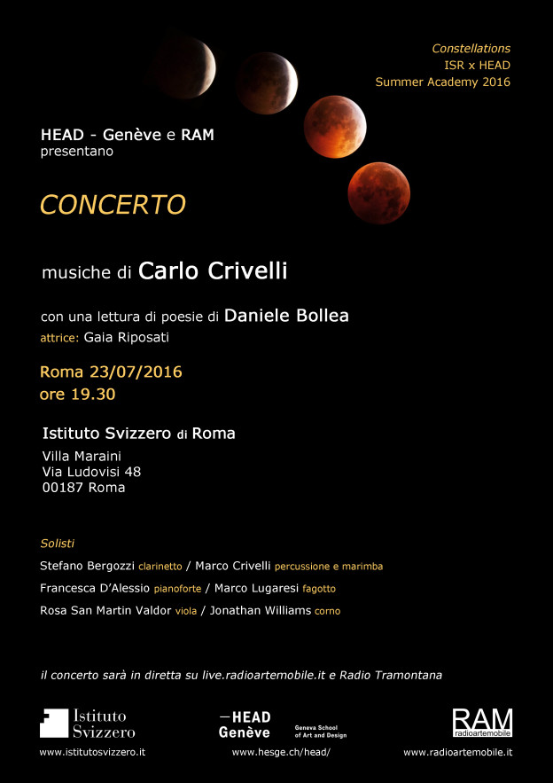 invitation to the concert