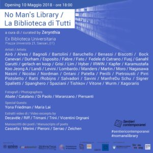 Graphic for the opening No Man's Library