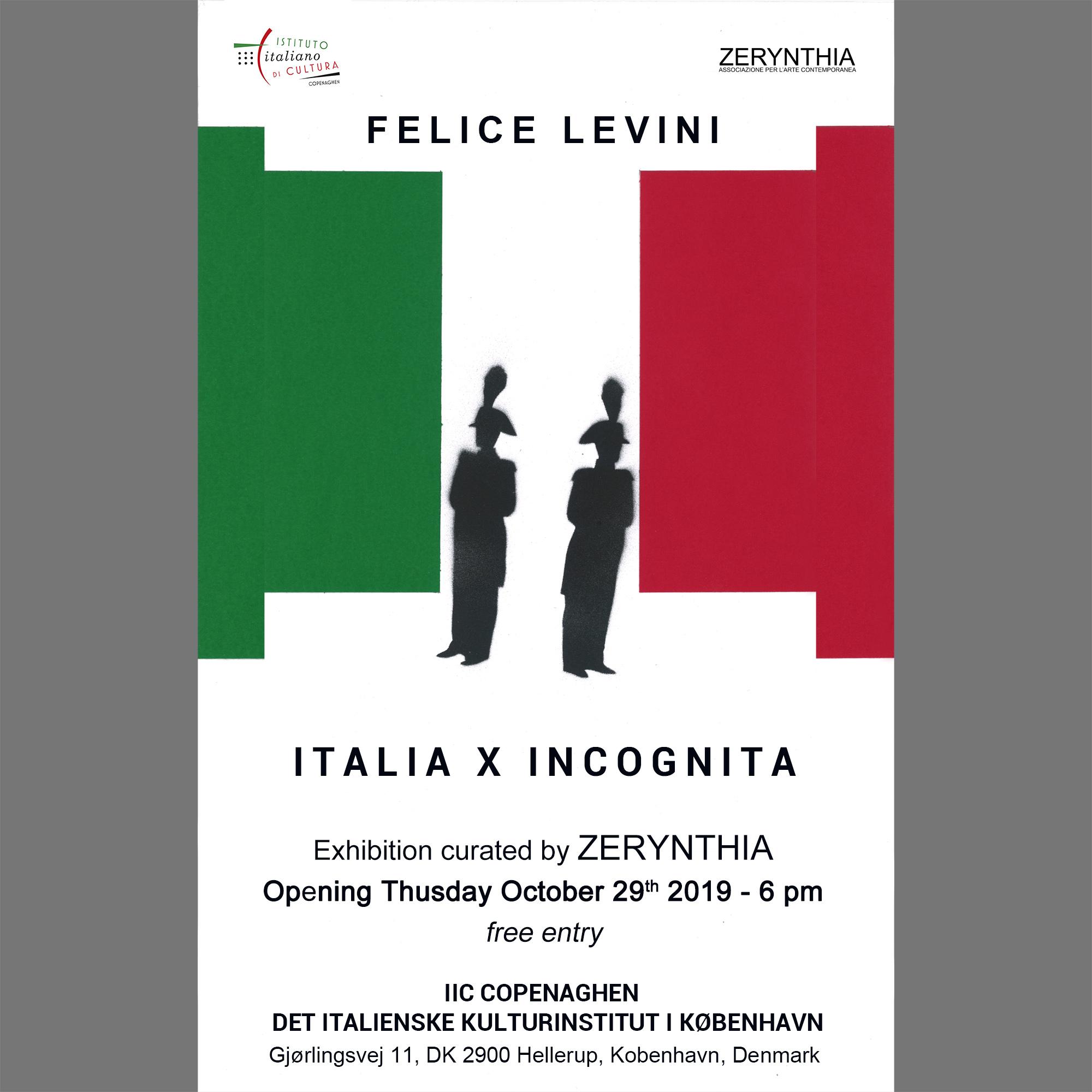 Invitation Levini in Copenaghen