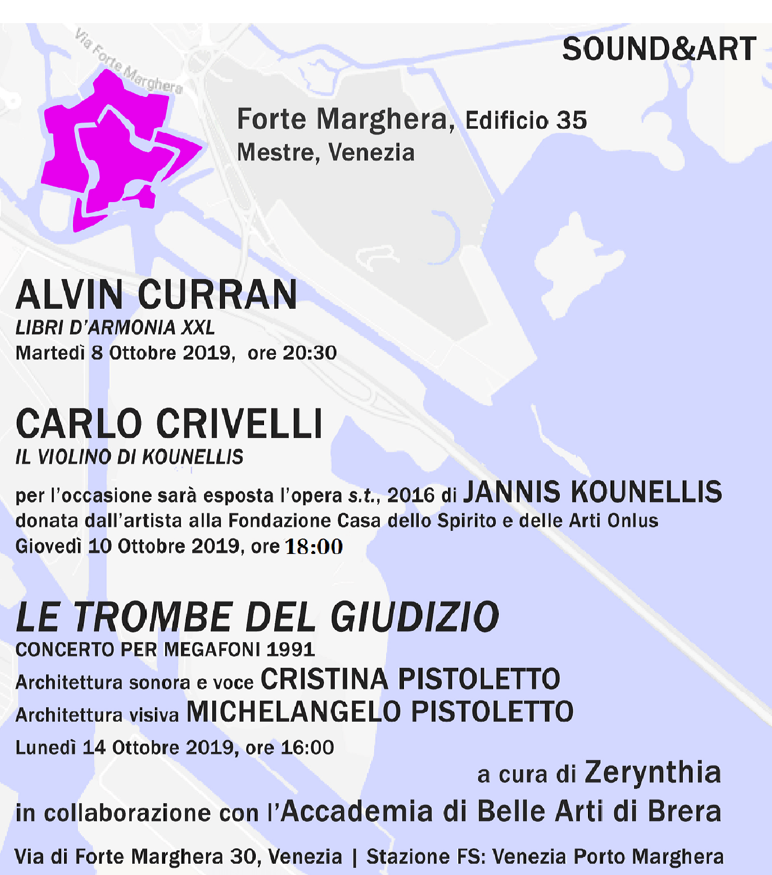 Invitation to Forte Marghera Sound&Art